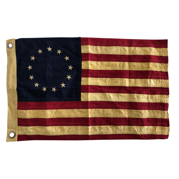 13 Star Flag, Vintage Reproduction Betsy Ross