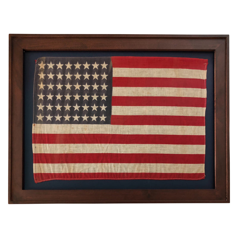 48 Star Flag, Antique American Flag