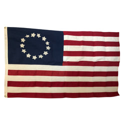 Applique 13 Star Flag, Vintage American Annin & Co Flag