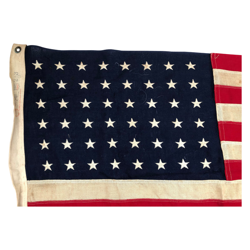 Vintage 48 Star Flag made by Dettras Flags - Embroidered Stars 2x3FT
