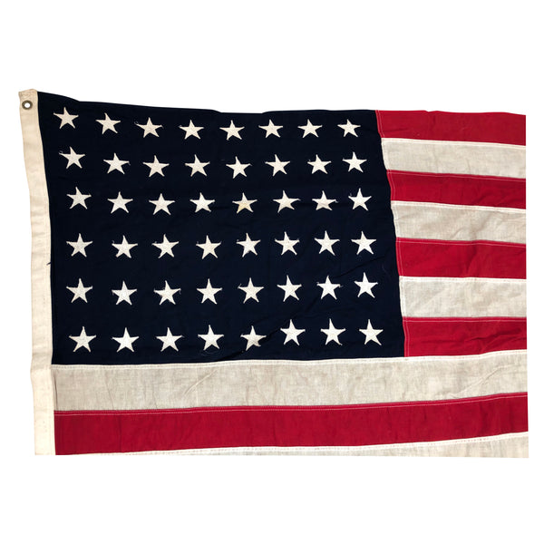 Vintage 48 Star Flag - American Flag - Cotton Bunting