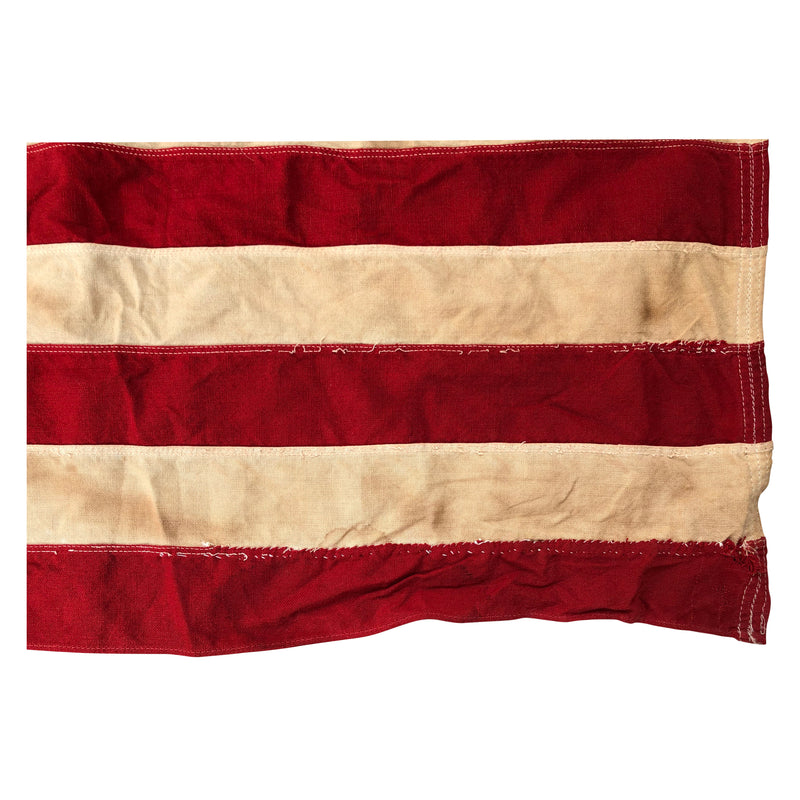 Vintage 48 Star Flag - Sewn Stripes and Stars by Dettras Flag