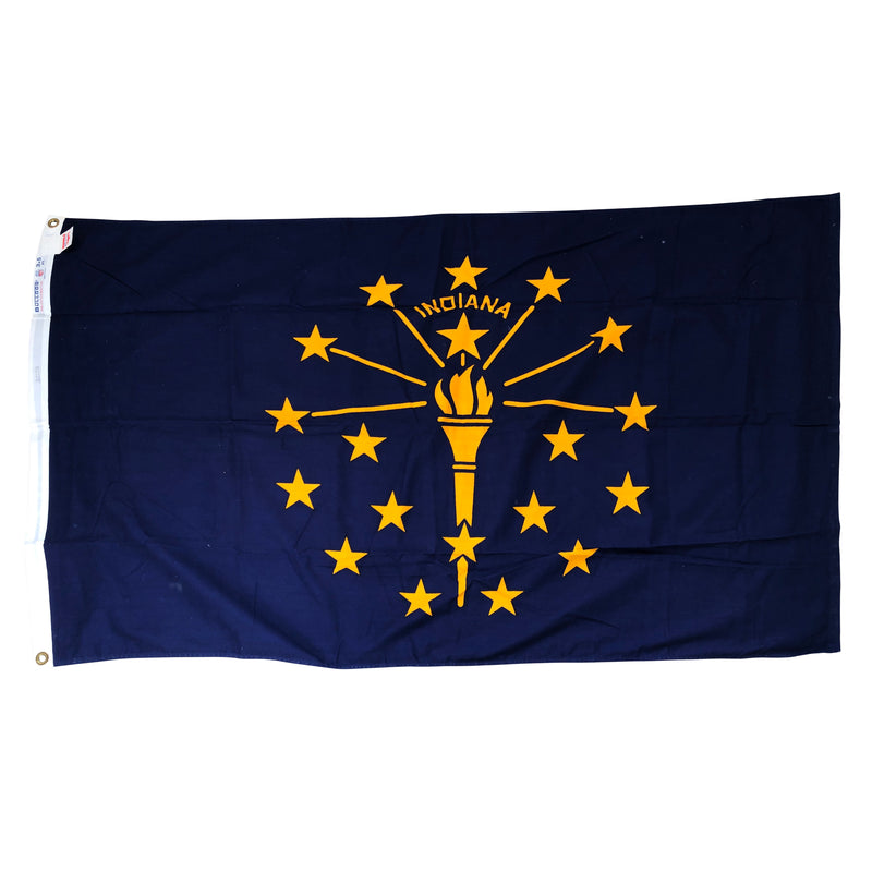 Indiana Statehood Flag made by Dettra Flag Products