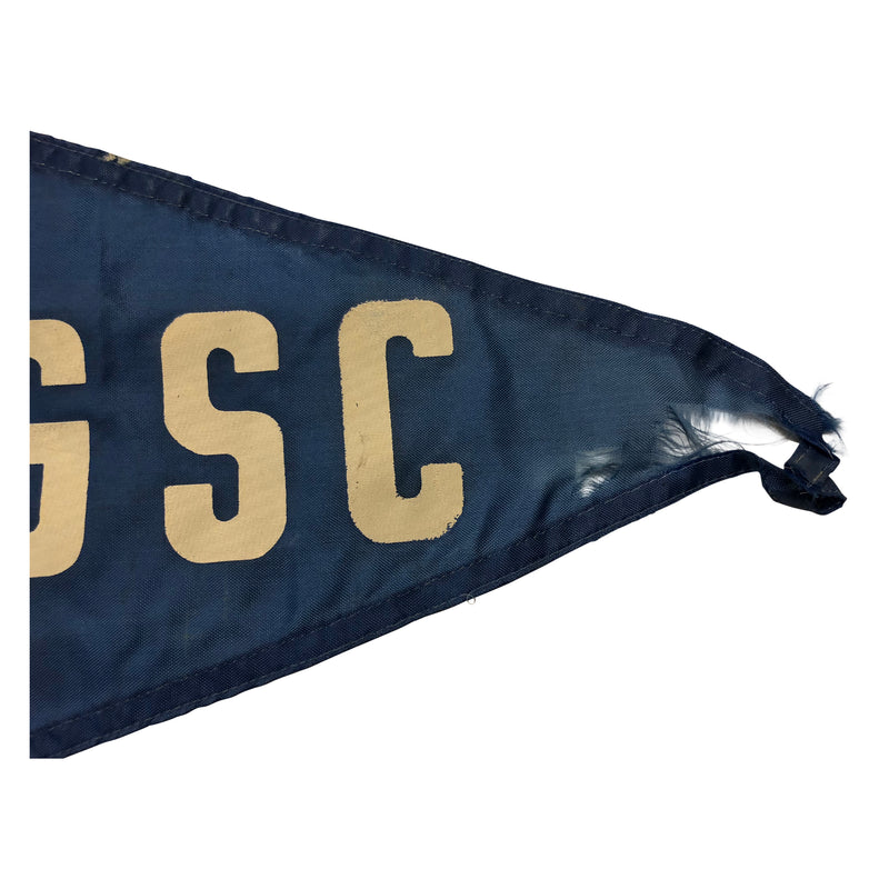 Vintage Coconut Grove Sailing Club Pennant