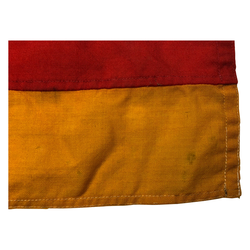 Vintage German Flag made of wool material