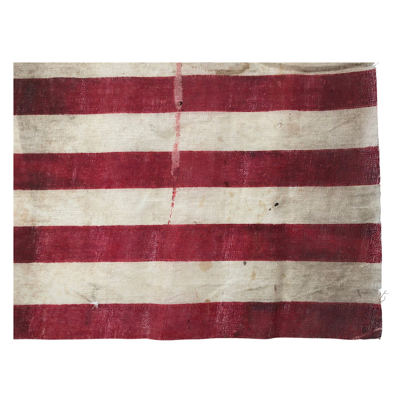 45 Star Flag, Zigzag offset Rows, Rare Star Formation - Utah Statehood