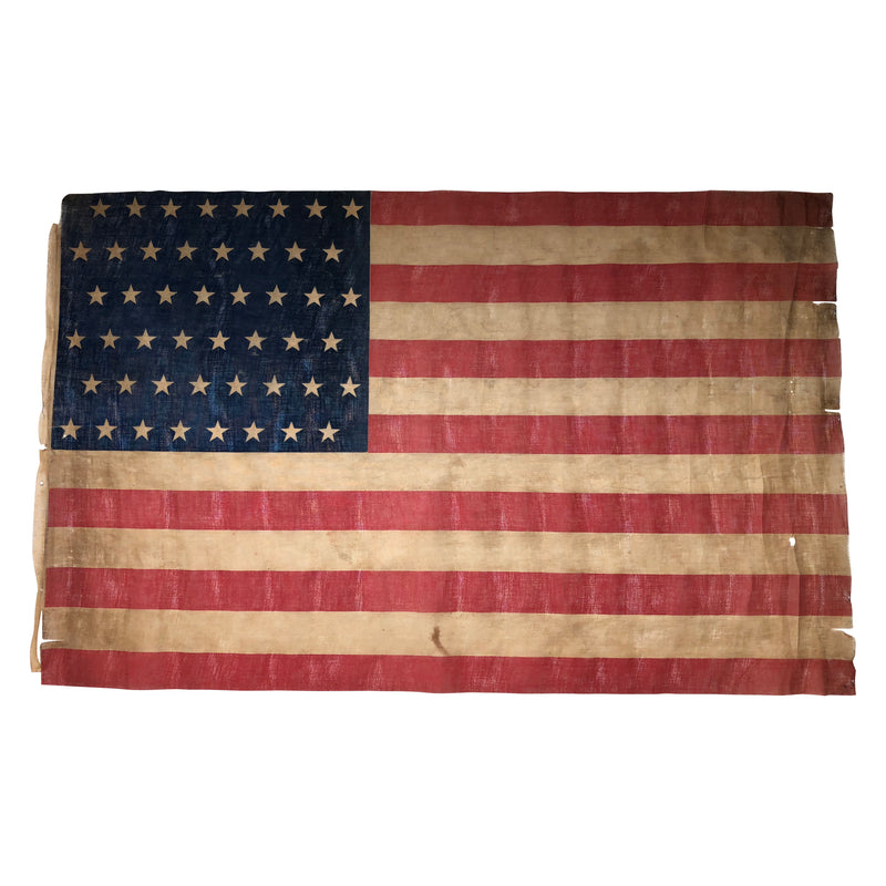 48 Star Flag, Large Parade Flag with Staggered Stars