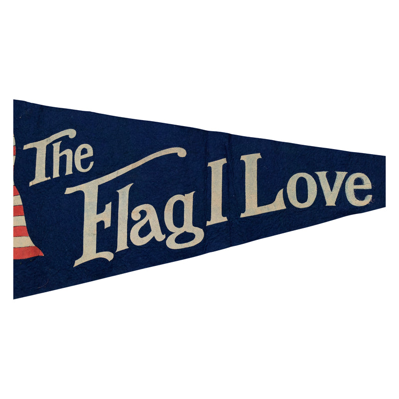 The Flag I Love - Vintage 48 Star Flag Pennant