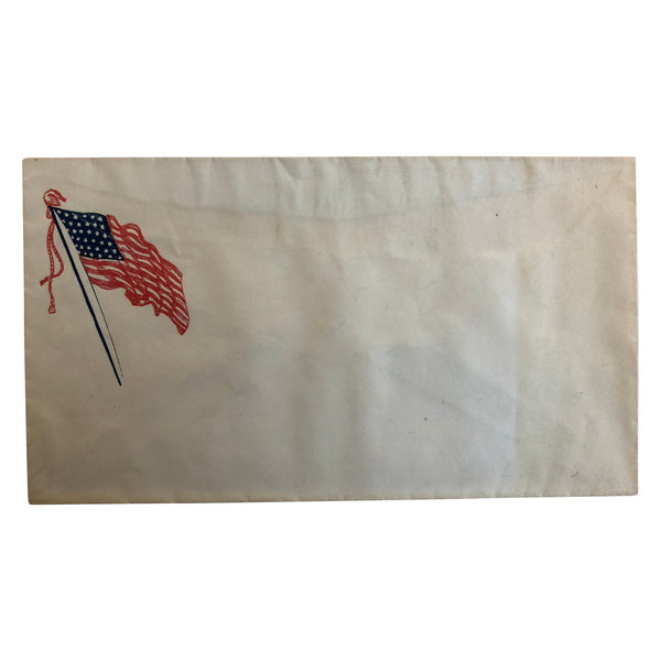 Patriotic Civil War Cover - American Flag