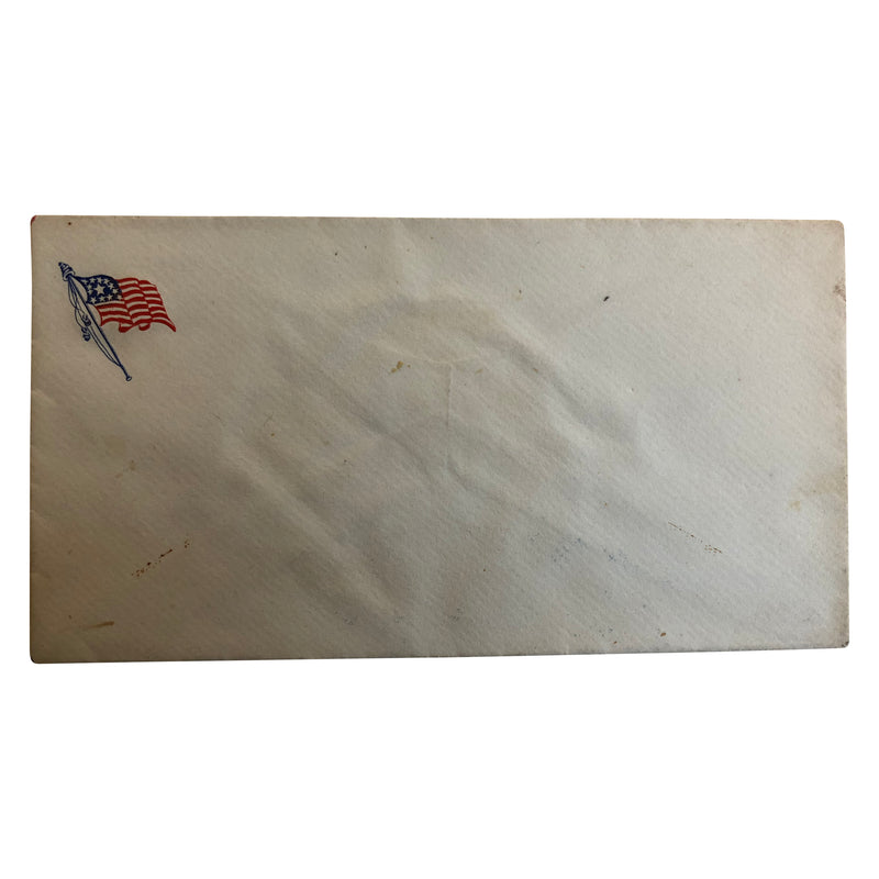 Patriotic Civil War Cover - American Flag with Medallion Star