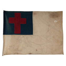 Vintage Christian Flag - Sewn Cross