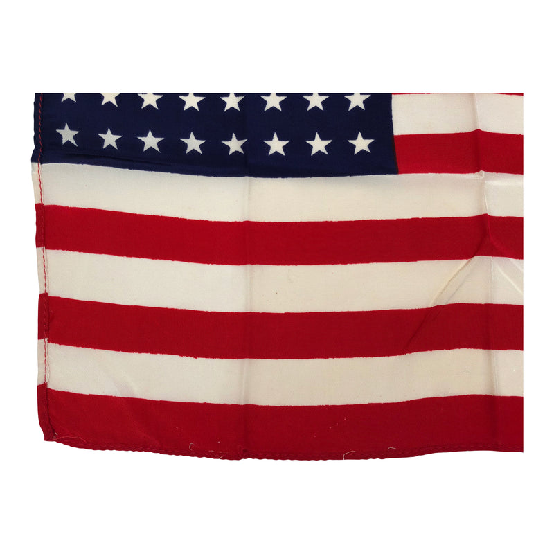48 Star Flag, Vintage Silk Antique American Flag