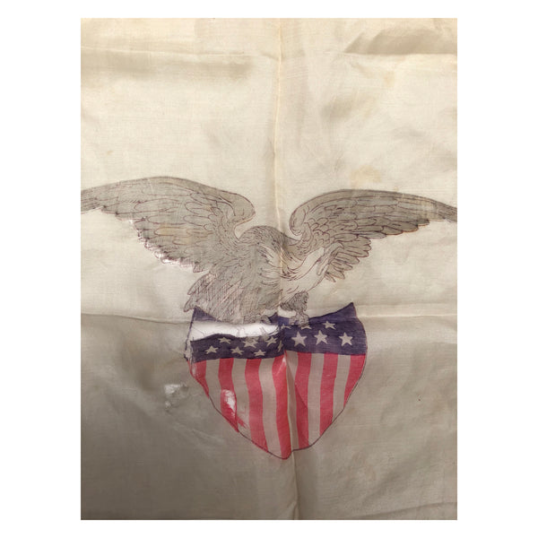 13 Star Flag Shield with Eagle Handkerchief