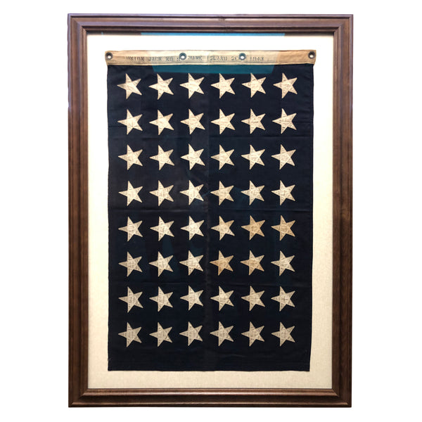 US UNION JACK 48 STAR FLAG - MARE ISLAND FLAG 1943 No 9