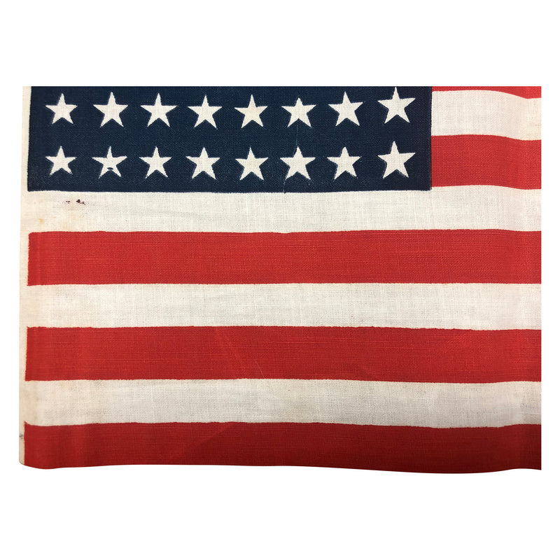 Vintage 48 Star American Flag - Oil cloth Material