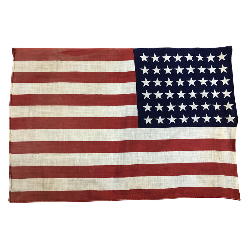 Vintage 48 Star Flag - Small Cotton Material
