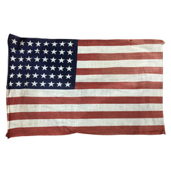 Vintage 48 Star Flag - Cotton Material Small Size