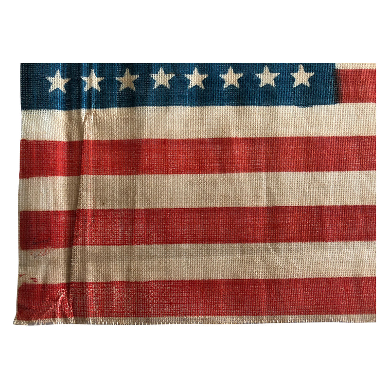 46 Star Flag, Vintage American Flag Small Size