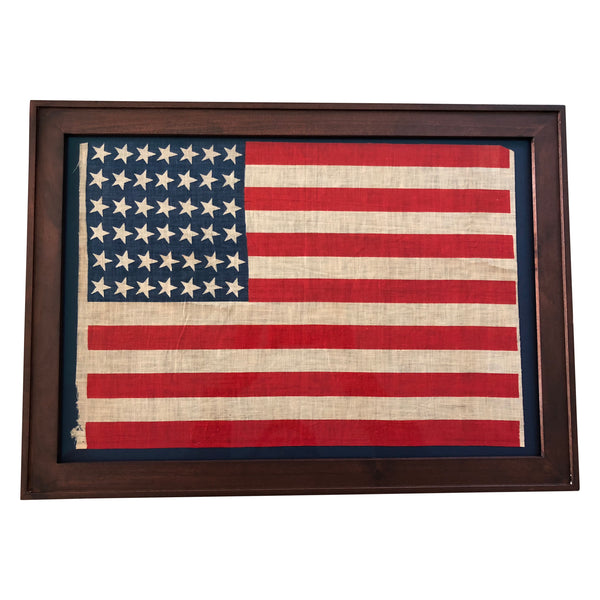 42 Star Flag, Vintage American Flag, Washington 1889-1890