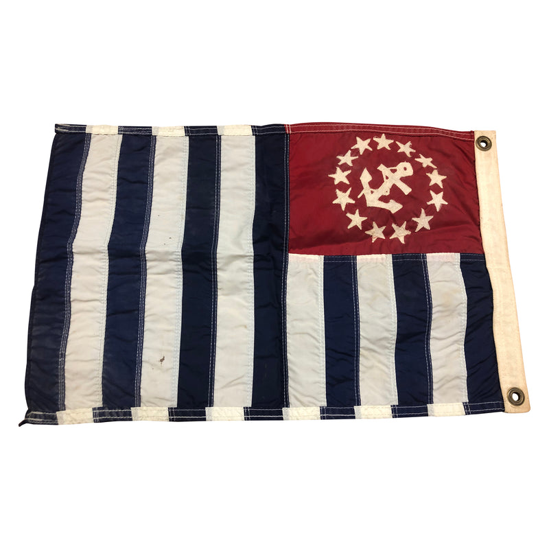 U.S. Power Squadron Ensign Anchor 13 Star Flag