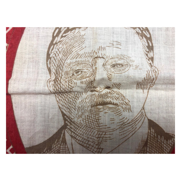 1912 Theodore Roosevelt Progressive Party Political Bandana Battle Flag