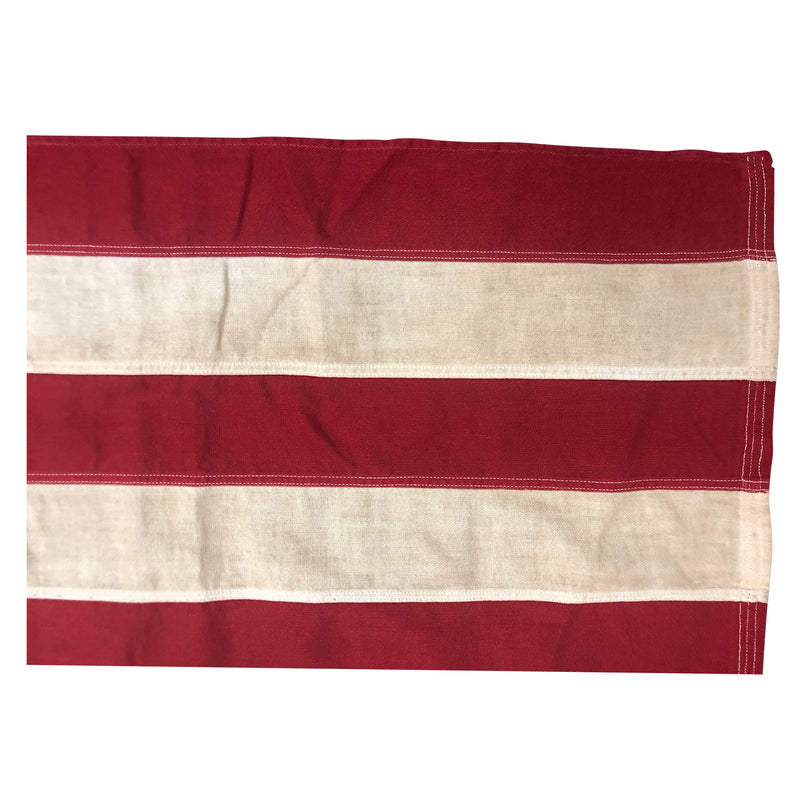 Vintage 50 Star Flag with Sewn Stripes and Stars