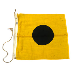 Vintage I International Code Signal Flag - Sterling Bunting Wool