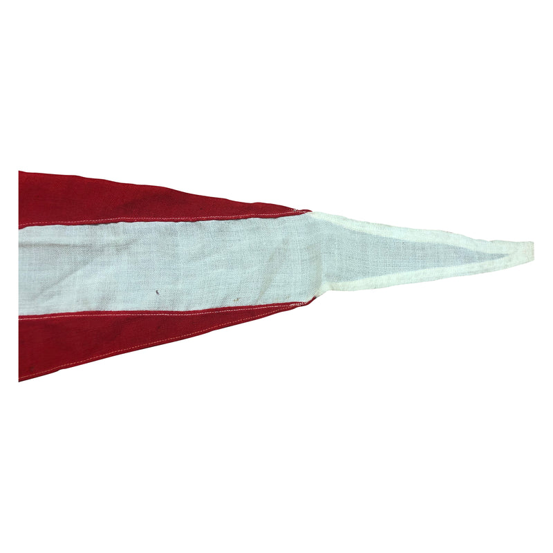 Vintage International Code Signal Flag Pennant