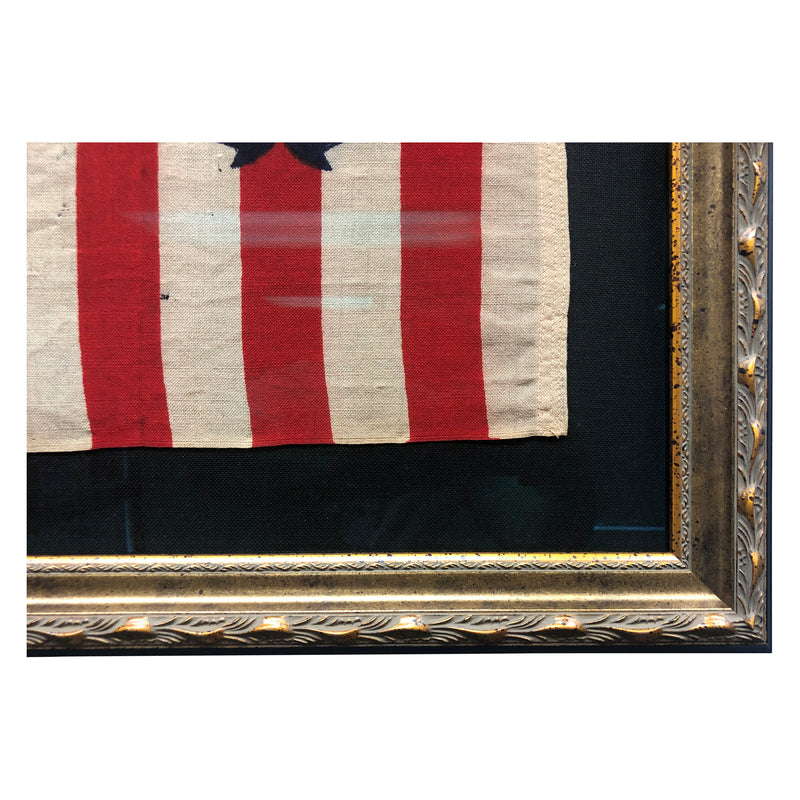 Vintage US Coast Guard Ensign Flag - No 5 - All Wool Bunting