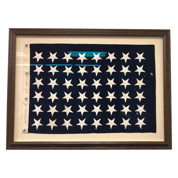 US Union Jack 48 Star Flag - Mare Island Flag No. 09