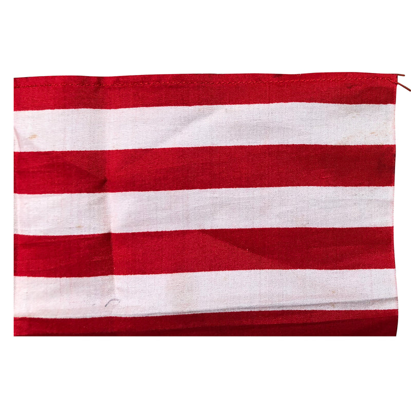 45 Star Flag - Small Vintage American Flag Silk