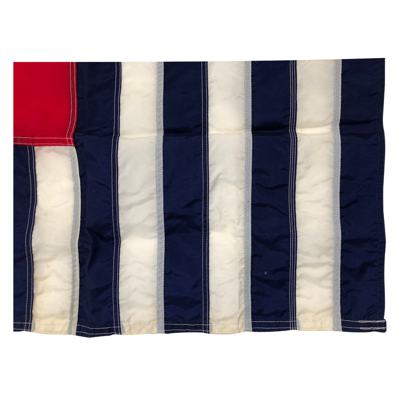 Vintage Yacht Ensign US Flag - Nautical 13 Stars Anchor & Stripes