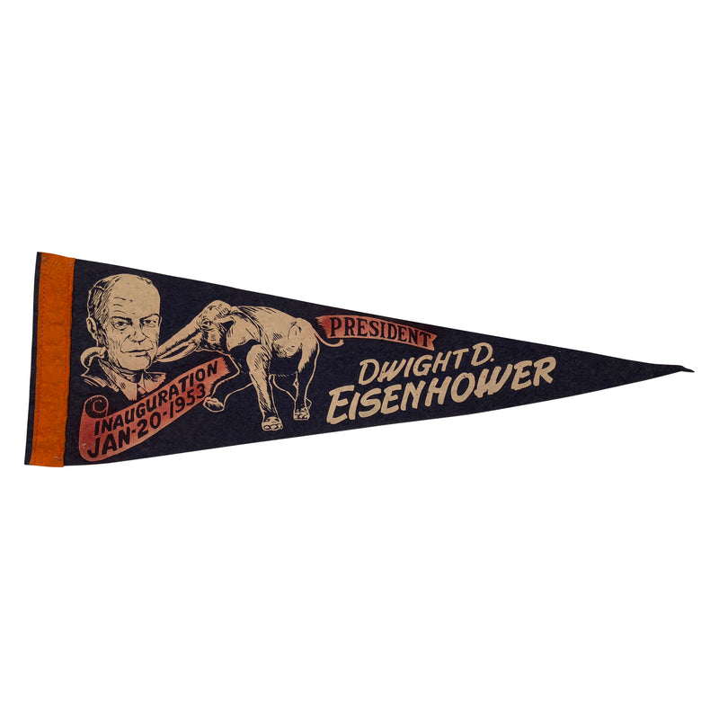 Dwight Eisenhower 1953 Inauguration Pennant