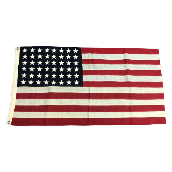 Vintage Flag - WWII U.S. Flag Mare Island 1945 Dated No. 11