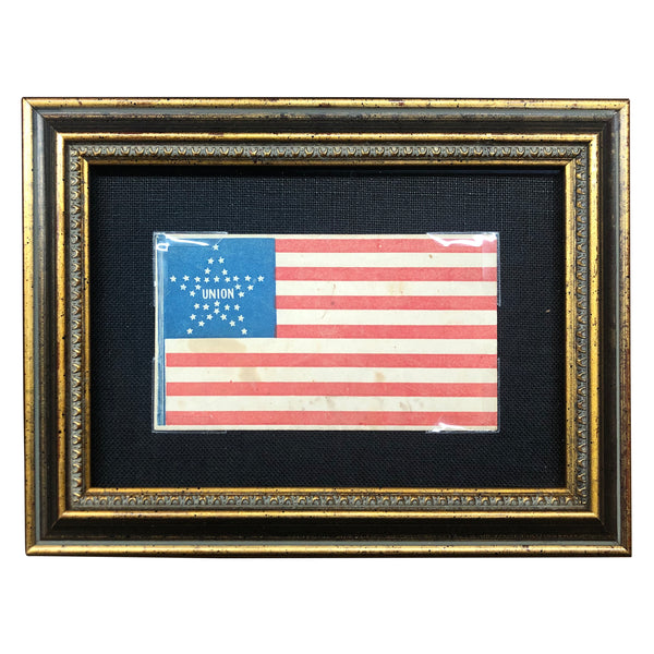 34 Star Flag Civil War Cover - 1861-1863