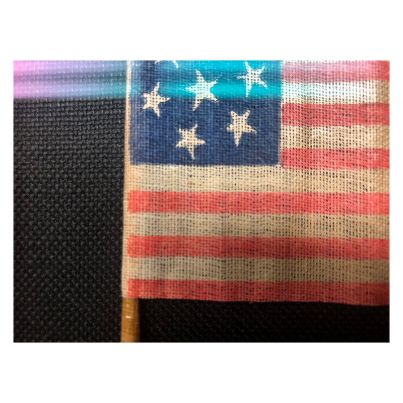 Antique Vintage 7 Star Flag 1876-1900