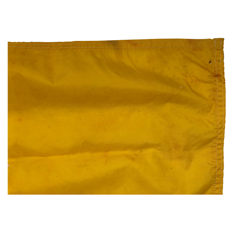 Vintage Yellow Flag made by Taylor Made