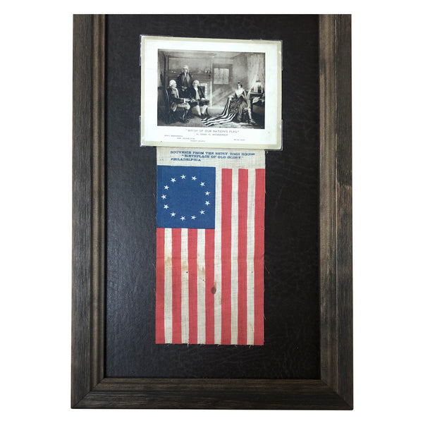 13 Star Flag - Betsy Ross House Souvenir 1895-1915