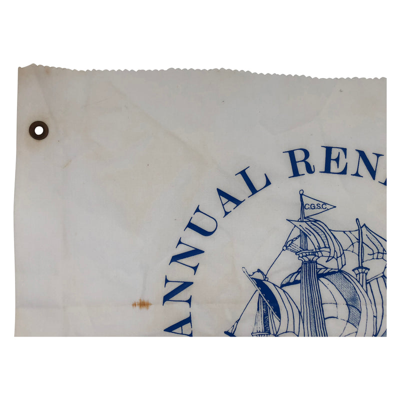 Annual Rendezvous Coconut Grove Sailing Club 1987 Flag