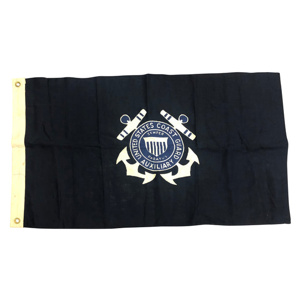 Vintage US Coast Guard Auxiliary Flag - Size 2
