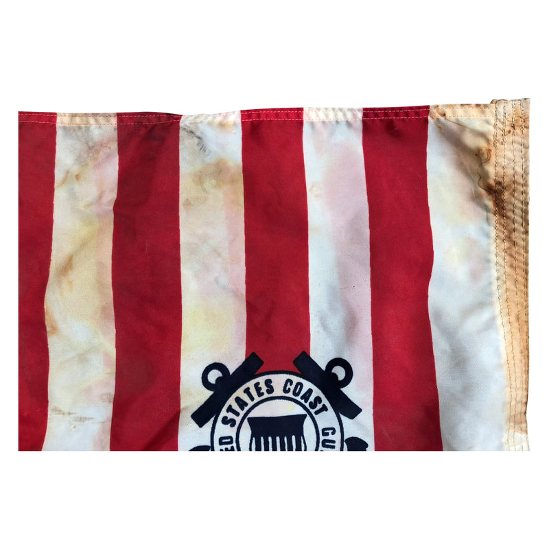 Vintage US Coast Guard Ensign Flag