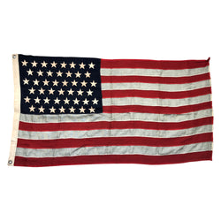 45 Star Flag - 1896-1908 Utah Spanish American War Era