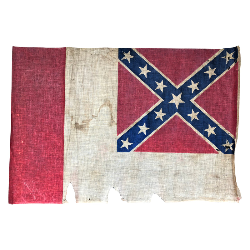 Vintage Civil War Reunion Flag in the Third National Pattern Parade Flag - UCV