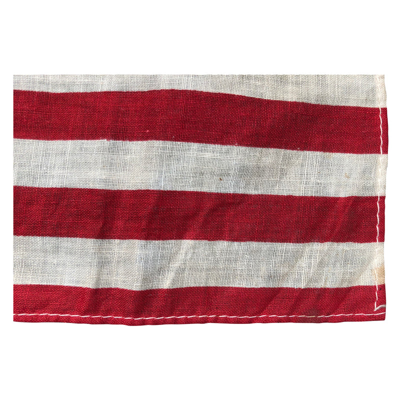 48 Star Flag - Small Size - Antique Vintage 48 Star American Flag