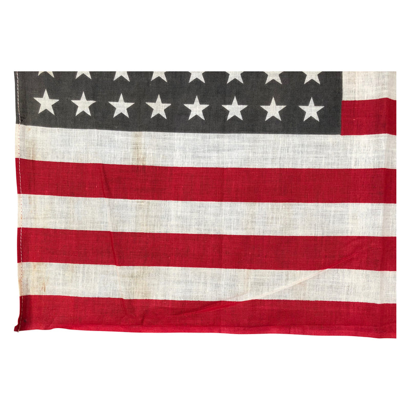 48 Star Flag, Vintage Antique American Flag