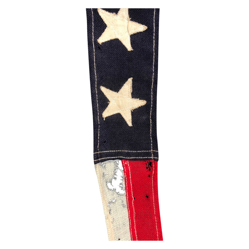 U. S. Navy Commissioning 7 Star Ship Pennant, Circa WWI- WWII 1917-1945