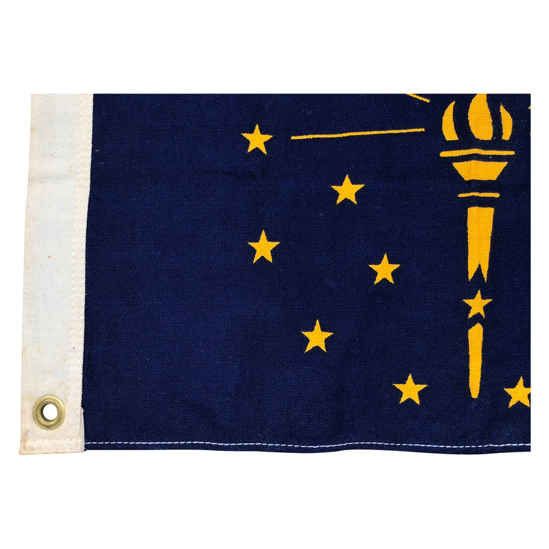 Vintage Small Indiana State Flag