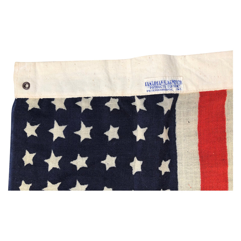 Vintage 48 Star Flag by Canadian Flag MFG Co.