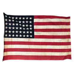 48 Star Flag, Antique Vintage American Flag