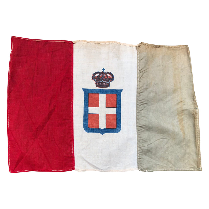 Vintage Variant flag of the Kingdom of Italy